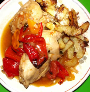 Spanish-Chicken-Thigh-Recipe