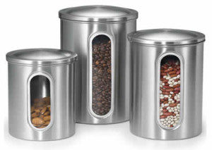 polder-stainless-steel-canisters-with-a-window-300x213