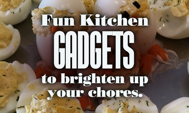 Fun Kitchen Gadgets Brighten Up Chores