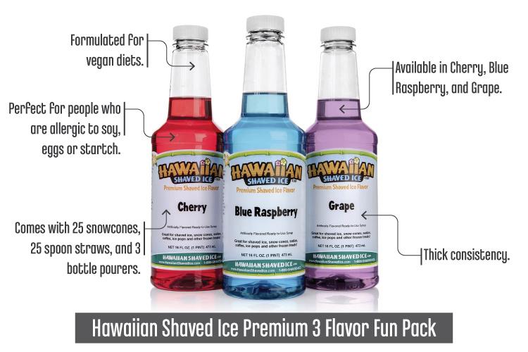 HawaiianShavedIcePremium3FlavorFunPack